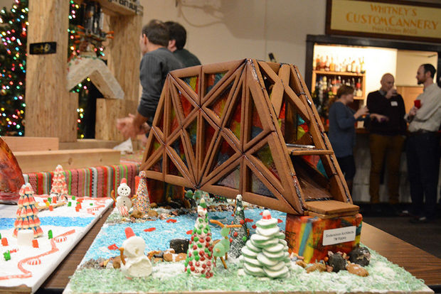 2018 Portland Gingerbread Bridge Competition Gingerbread